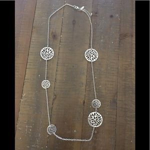 New York & Co Silver Necklace